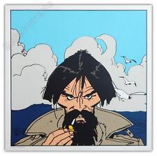 Affiche Sérigraphie Hugo Pratt Corto Maltese Raspoutine 50x50 cm