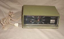 Vintage Panasonic Clock Radio Retro Green Model RC-1087 Clock Radio Panasonic