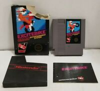 Excitebike 5 Screw NES Nintendo Box w/ Manual Authentic TESTED FREE SHIPPING