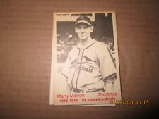 1975 & 1983 Tcma St Louis Cardinals 1942-46 Dynasty.Singles.Free Mailing