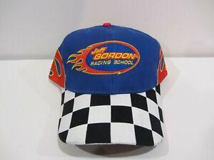 JEFF GORDON RACING SCHOOL NASCAR NEW FLAMES HAT CAP Hendrick Motorsports #24