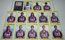 STADE MALHERBE CAEN SMC D'ORNANO TEAM COMPLETE PANINI FOOTBALL FOOT 92 1991-1992
