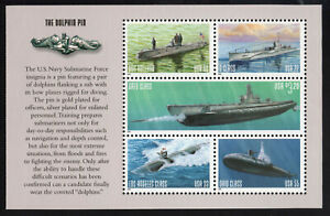 US Navy Submarines 3373-3377 3377a   Booklet Pane 5  XF Gato Ohio MNH  1999