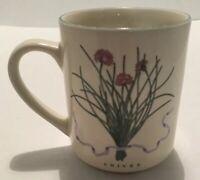Vintage Woodbine Meadows Chives Coffee, Tea, Mug, Cup