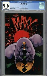 The Maxx #1 CGC 9.6 NM+ WHITE PAGES