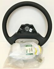 NEW GENUINE Land Rover Defender LEATHER Steering Wheel w/Center Pad, 48 Spline