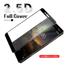 Full Cover Screen Protector Tempered Glass Film For Nokia 2.1,3.1,5.1,6.1 X5 X6