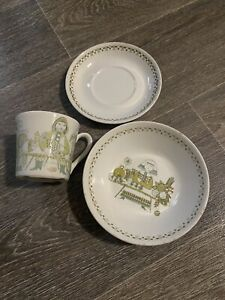 Figgio Norway Mug Plate Bowl Saucer 3 Piece Figgio Market Free Post In Aus