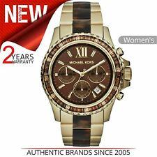 Michael Kors Everest Glitz & Glamour Chronograph Brown Dial Ladies Watch MK5873