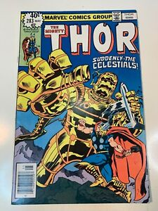 "MIGHTY THOR #283_MAY 1979 VF/NM ""SUDDENLY...THE CELESTIALS""_BRONZE AGE!"
