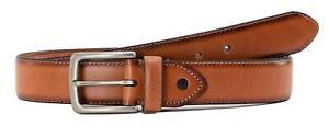Levi's Men's 38MM Wide Genuine Leather Casual Belt  Tan