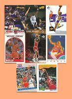 😇  KOBE BRYANT 🔥 1996-97 Rookie RC ➕ 🔥 MICHAEL JORDAN 🔥 8 Cards Lot 🔝💲🆙📈