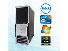 Dell Workstation T3500 Xeon X5570 2.93Ghz 8GB DDR3, 1000GB Sata, Quadro fx580