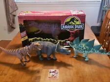 Jurassic Park 1993 Kenner Lot of 4 Rare Dinos *FREE MOC Electronic VELOCIRAPTOR*