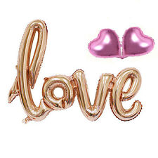1 Set  Love Letters Heart Aluminum Foil Helium Balloon Wedding Party Decoration
