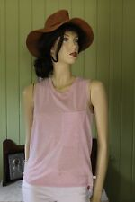 Victoria's Secret Pink Singlet Top Size S POST 1-4 Items=$10, 5 or more=FREE