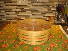 Longaberger Darning Woven Traditions Basket With Protector