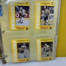 Pittsburgh Penguins Lot of 5 Team Sets Foodland Police Issued 1990-1995 Rare