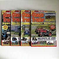 Classic Tractor Magazine Issue July Aug Sept Oct 2019 Number 219,220,221,222