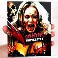 Splatter University - Blu-ray - Inc. Limited Ed. Slipcover - Vinegar Syndrome