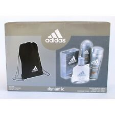 "Adidas Dynamic "" Eau de Toilette 3.4oz + Deo Body Spray 5.1oz+ Shower Gel 5.1oz"