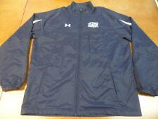 Under Armour Blue White All Season full zip Longsleeve Advocare Jacket Coat