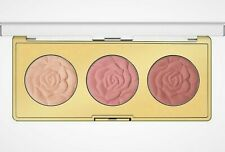 MILANI  ROSE POWDER BLUSH TRIO PALETTE # 01 FLOWERS OF LOVE ~ NEW ~ UNTESTED