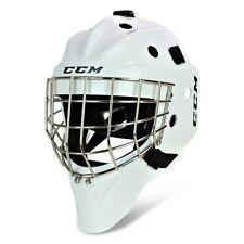 CCM GFL 1.5  Ice Hockey Goalie Mask! New JR SR Black White Helmet Roller Inline