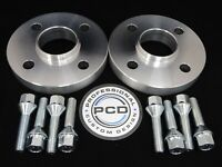 Pair 4x100 Hubcentric Spacers, 15mm Wide 57.1CB 8 TAPERED Bolts VW AUDI UK Made