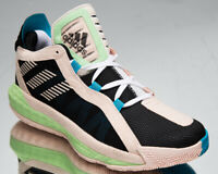 adidas Dame 6 GCA Men's Black Pink Tint Mint Athletic Basketball Sneakers Shoes