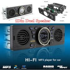 12V Car In-Dash 1Din Bluetooth Audio MP3 Player USB TF-card AUX Stereo FM Radio