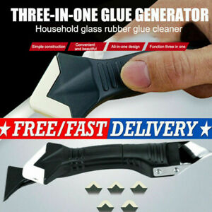 Glass Glue Angle Scrapers Adhesive Residue Scraper Seam Repair Tools Home-FAST