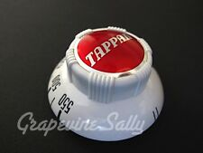 Tappan Vintage Stove Parts Robertshaw 2200S Thermostat RED Gas Oven Control Knob
