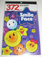 Album Carnet Planches 372 Stickers Autocollants Smile Face 24x15cm NEUF