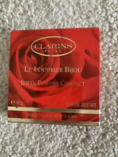 CLARINS Poudrier Bijou Jewel Powder Compact Transparent/Translucent