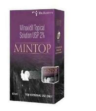 2xpack Minoxidil Topical Solution USP 2% Mintop 10 60ml Free Shipping from INDIA