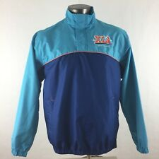 NFL Super Bowl XLI 41 South Florida 2007 Men Medium Half Zip Windbreaker Jacket