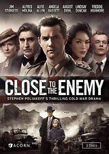 Close to the Enemy: Season 1 (First Season) 3 Disc DVD Set British Drama >NEW<
