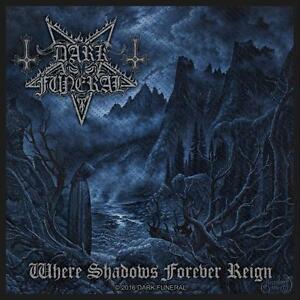 DARK FUNERAL - Patch Aufnäher - Where shadows forever reign 10x10cm