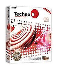 Techno eJay 5 estudio de música virtual-Pc (nuevo Y Sellado)