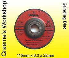 Grinding Wheels, 115mm  Box of 25.  only $1.28 each..CERTIFIED! AUSSIE SELLER!