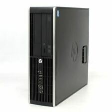 HP Compaq 6300 Pro Desktop PC SFF Intel G640 2.8GHz WIN10