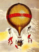 Bolla di trasporto Hot Air lachambre Francia NUOVO art print poster cc2909
