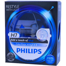 H7 PHILIPS ColorVision BLAU - Styling Scheinwerfer Lampe - DUO-Pack NEU