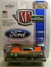 1957 '57 FORD FAIRLANE 500 R39 M2 MACHINES DRIVERS DIECAST 2017