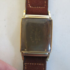 Star Watch Case Co. WALTHAM PREMIER WRIST WATCH 10K Gold Filled Rectangular CASE