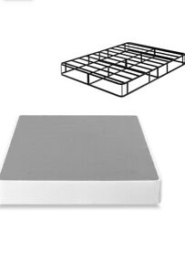 Brand New Zinus Amrita  9 inch Smart Box Spring Mattress, Twin Size - Gray Steel