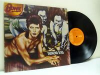 DAVID BOWIE diamond dogs (1st uk press) LP EX/VG APL1-0576, vinyl album gatefold