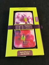 BNIB TED BAKER Pansy Print Rowing Stripes Protect & Reflect Folio iPhone 7 6 6s