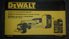 DEWALT 36V 36 VOLT dc415 cordless grinder xrp cut off tool dc415kl Brand new